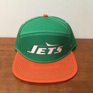 Football-NFL NWT NY JETS youth snapback hat